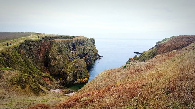 Bullers Of Buchan Cliffside Seaside