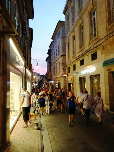 Street City Street Architecture AvignonFestival Palais Des Papes Avignon Architecture