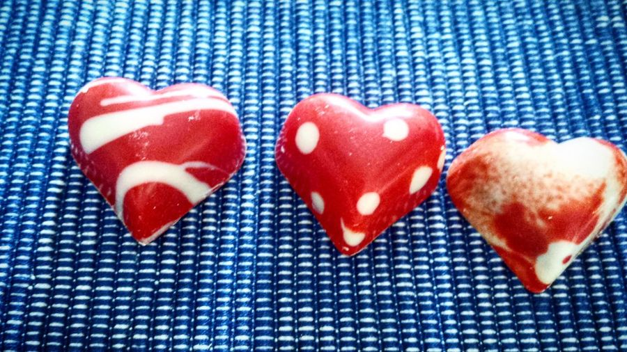 Heart Shape Blue Valentine's Day - Holiday Indoors  Sweet Food Pattern Polka Dot Freshness Spotted No People Close-up Food Day Love Red Tranquil Scene Eyemgallery Eyemcaptured Eyembestpics Eyem Best Shots Eyem Best Shot - My World EyeEmBestPics Eye4photography  Eye4photography