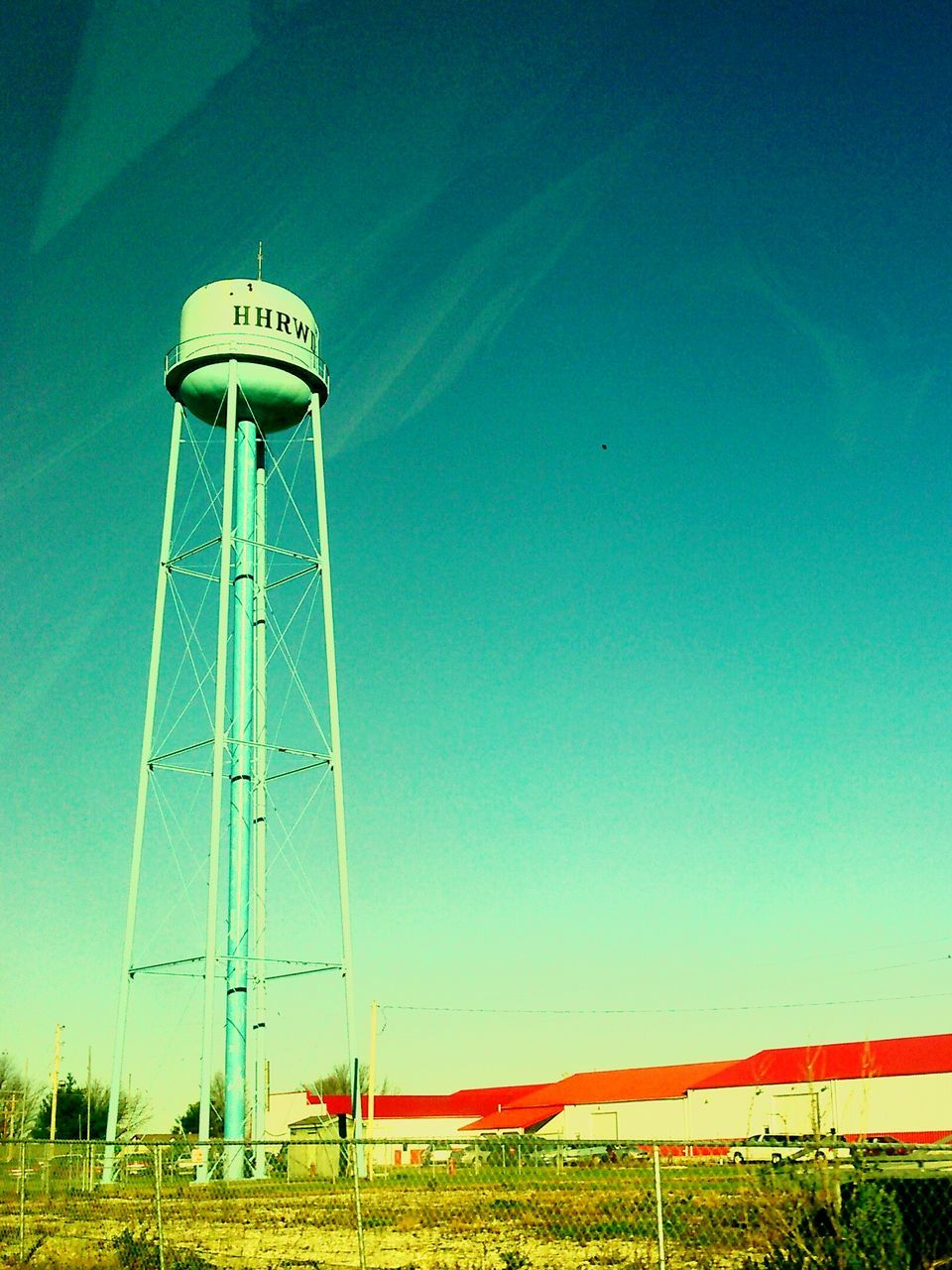 architecture, built structure, storage tank, day, water conservation, no people, water tower - storage tank, outdoors, blue, clear sky, nature, sky