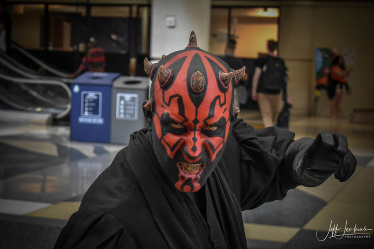 Cosplay Cosplayer Cosplayers Cosplaying Darth Maul DarthMaul Looking Looking At Camera Makeup People People Photography Pose Starwars Starwarscosplay