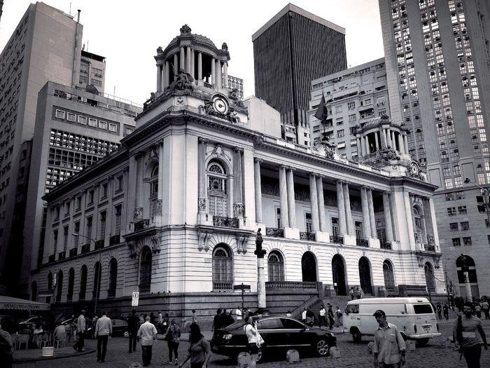 Centro da Cidade, concentração de prédios antigos. Cámara VereadoresRJ