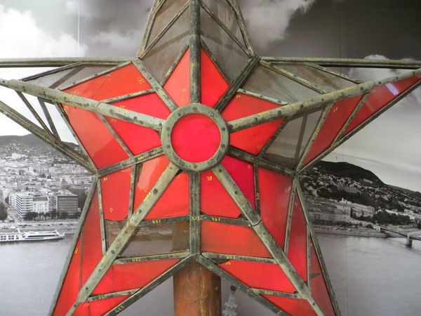 A star, resurrected.. Budapest Budapest, Hungary Budapest_hungary Design Eye4photography  EyeEm Best Shots History House Of Parliament Houses Of Parliament Indoors  Metal Metallic Museum Ornate Parliament Parliament House Part Of Pattern Red Red Star Symmetry Vertical Symmetry