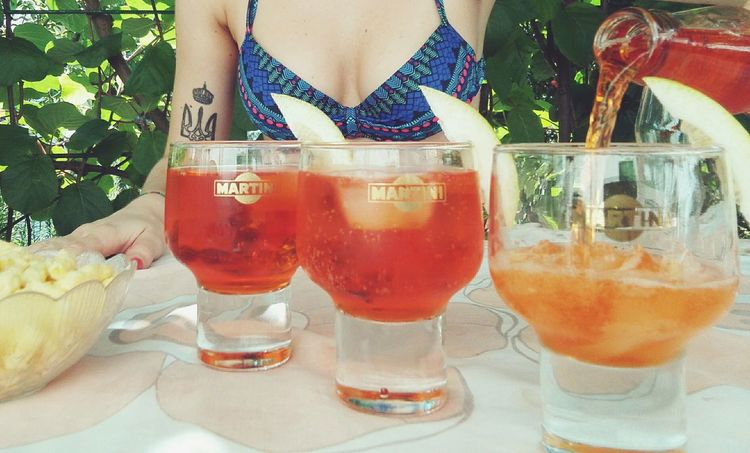 Aperol Spritz Drinks Barmen