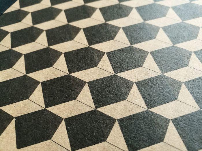 Full frame shot of patterned floor