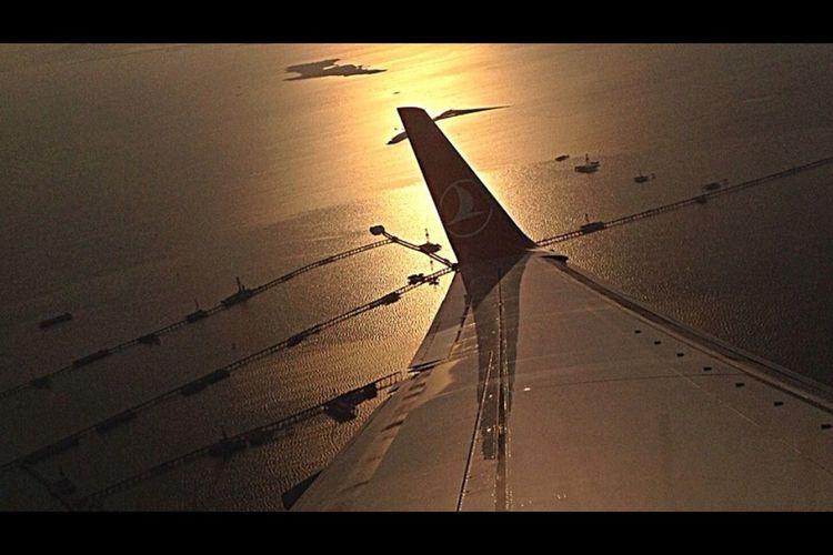 From An Airplane Window Tadaa Community Caspian oilfields