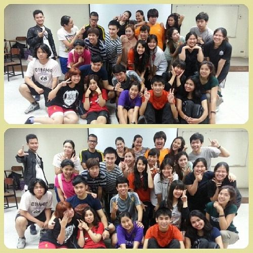 Such a great day.. Have fun,tired, and excited!!!! KKUEnglishDrama AJhaaaa