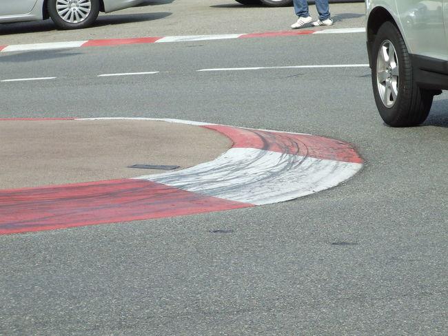 Apex Asphalt City Street Close-up Day Formula 1 Monaco MonacoGP Outdoors Road Skidmarks Street Transportation