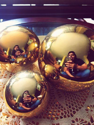 Photooftheday Ball Mirrorselfie Me
