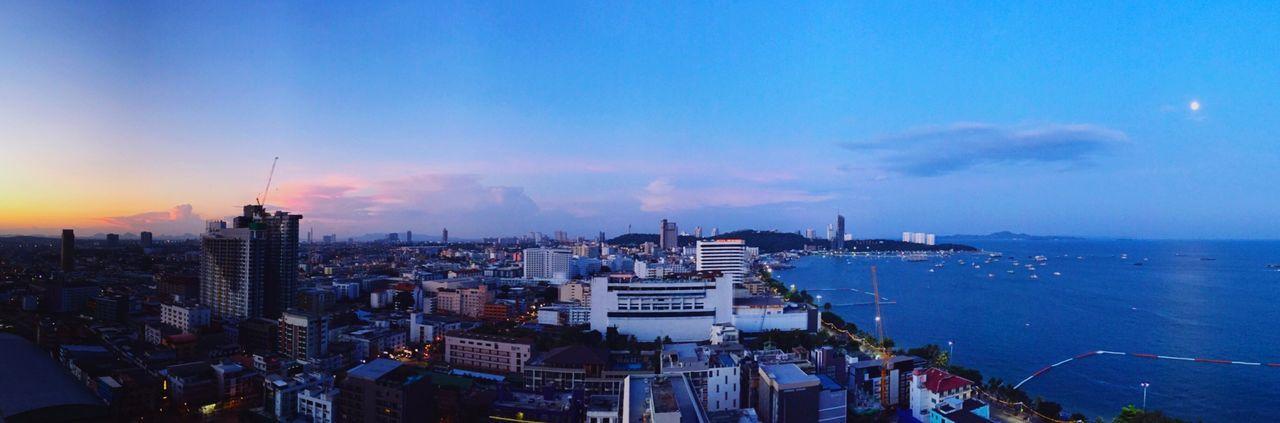 Sunrise & Full Moon Full Moon EyeEm Thailand Thailand Pattaya