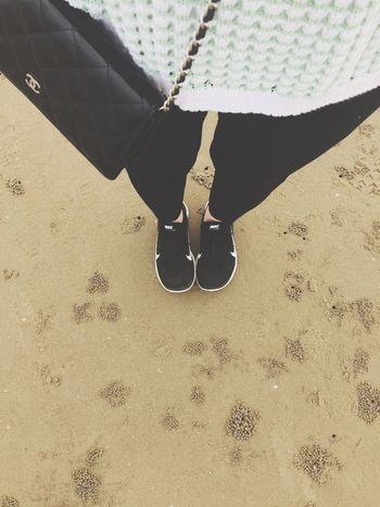 Being A Beach Bum Sandcastles Sea Relaxing Enjoying The Sun