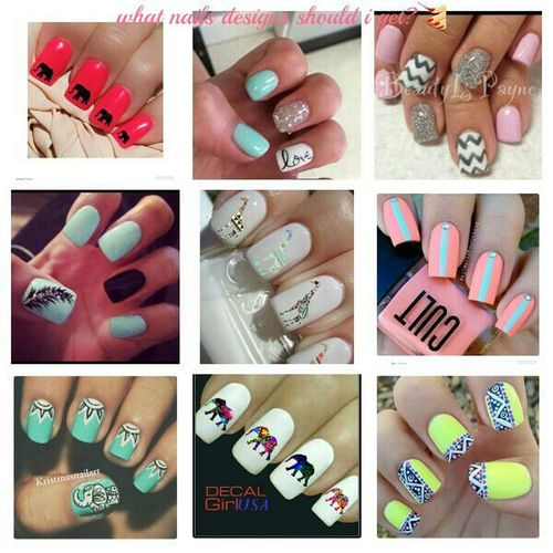 what back to school nail design should I get?😶 Check This Out please leave a comment below try to describe what one you think is best!