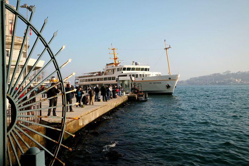 Sea Fisherman People Steamship