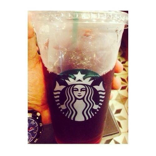 All time favorite.hahah.:) Starbucks Tazo Brambleberry