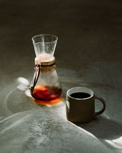 In Still Motion Photography Liam Rimmington Liampea Concrete Pour Over Coffee Filter Coffee Manual Brewing Chemex Drink Refreshment Food And Drink Glass Table Indoors  Drinking Glass Coffee Coffee - Drink Hot Drink Still Life