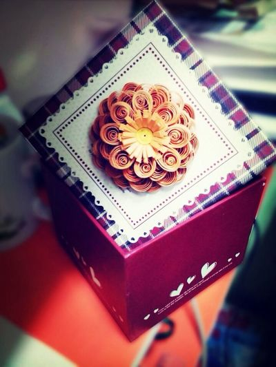 Quilling Flower For Him By Me