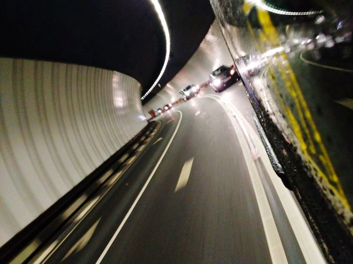 Lets go home Transportation Speed Illuminated Road Night Motion City Taxi Tunnel Mersey Tunnels Traffic Cars Transportation Transport