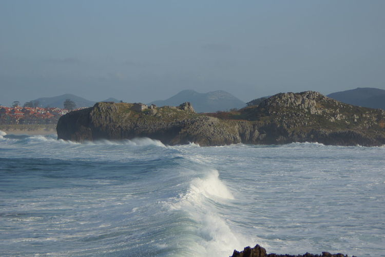 Sea view in arnuero cantabria