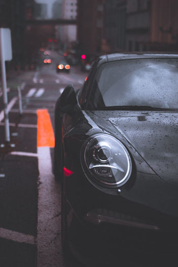 Car Porsche Headlight Moody Dramatic Getting Inspired Getting Inspired EyeEm EyeEm Best Shots EyeEm Gallery City City Life Yellow Bokeh Transportation Lines Street Cool Sale Best Of EyeEm Popular Stock Reflection Clouds Transportation No People Land Vehicle Close-up Day Outdoors