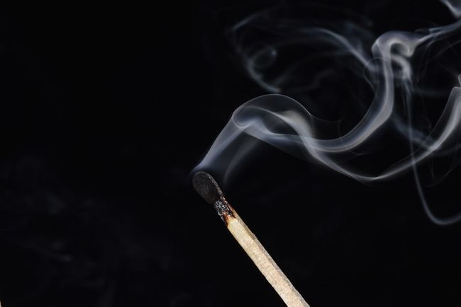 smoke trails on a burned matchstick Bradleywarren Photography Bradley Olson Macro Background Backgrounds Graphics Modern Tranquility Calm Growth Copy Space Room For Text Smoke Smoke - Physical Structure Fire Burned Burn Burning Burnt Close Up Closeup Graphic Graphic Design Smoke - Physical Structure Black Background No People Close-up Studio Shot Indoors  Vapor Trail Visual Creativity