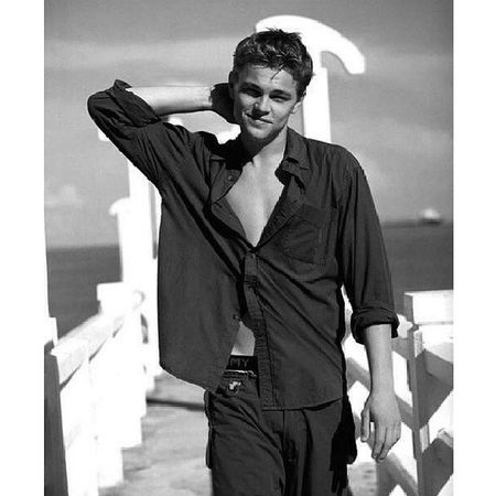 Something about yougn Leo that gets me everytime ? Heshot Leonardodicaprio  Leo Hottie