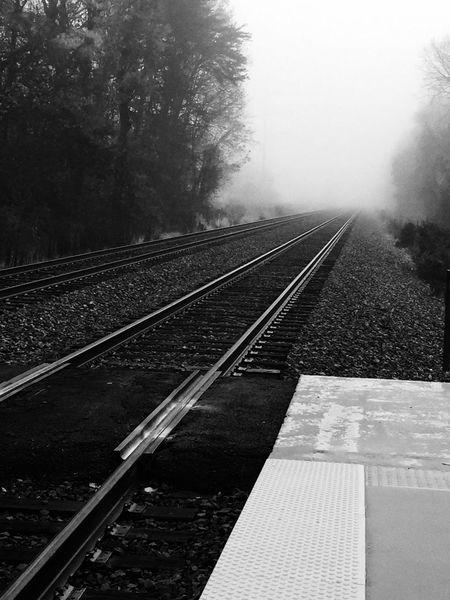 Photography Burke Weather Train Station