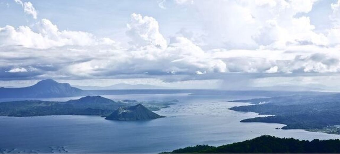 Taal Volcano Tagaytay Philippines Philippines Photos Overview Lake Rain Clouds EyeEm Nature