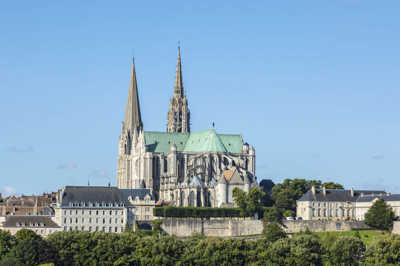 The Cathedral of Our Lady Chartres,France Architecture_collection Cathedral Cathedral Of Our Lady Of Chartres Chartres Cathedral Chartres, France Church Cityscape Eure Et Loir Old Town TOWNSCAPE Architecture Building Exterior Built Structure History Landmark Landmark Building Landmarkbuildings Monument No People Place Of Worship Religion Spirituality Travel Destinations