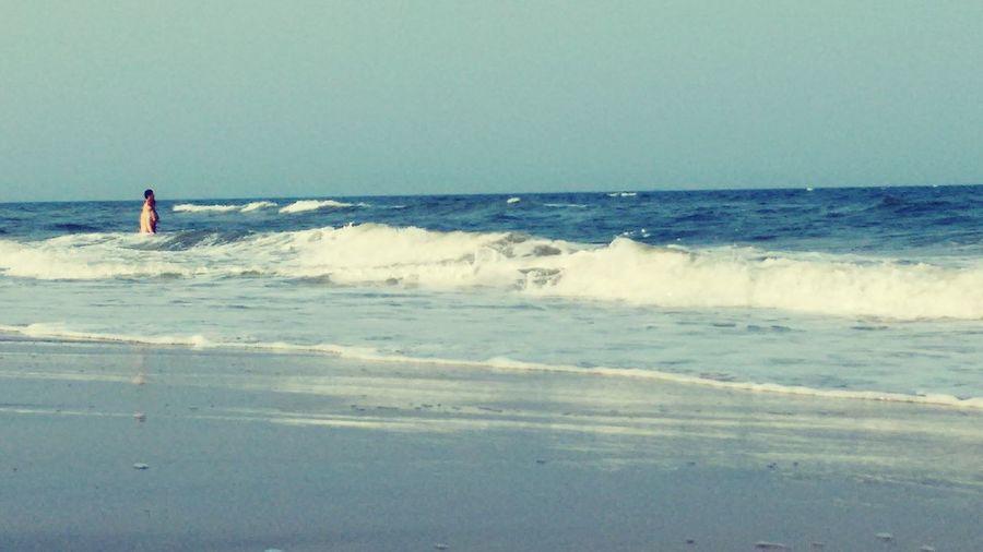 Blue Wave Beingblue Somethingblue Peace Beachlove Traveldiaries Pondicherry
