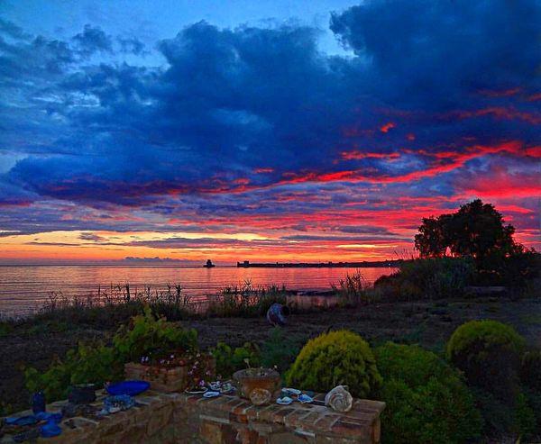 Sunset Sunset Sky Nature Cloud - Sky Beauty In Nature Landscape Scenics