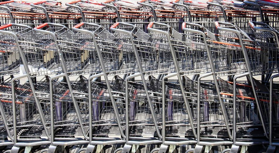 Abundance Architectural Feature Arrangement Backgrounds Capital Cities  City Life Day Full Frame Grocery Grocery Shopping In A Row Large Group Of Objects No People Repetition Tourism Travel Destinations