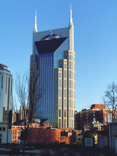 Holy Batman! Music City USA Nashville Batman Building EyeEm Selects Architecture Building Exterior Built Structure Sky Building Office Building Exterior