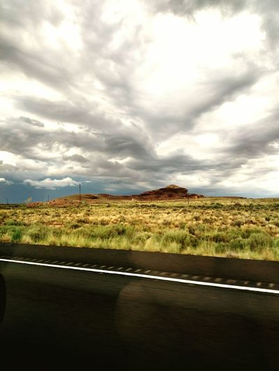 Southwest  Desert New Mexico Western Mesa High Desert Navajo Country Painted Skies Clouds Thunderhead