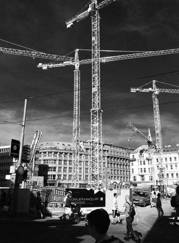 Developement... Streetphotography Prague Blackandwhite Urban Life