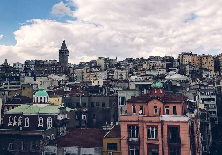 Old Buildings History Istanbul City