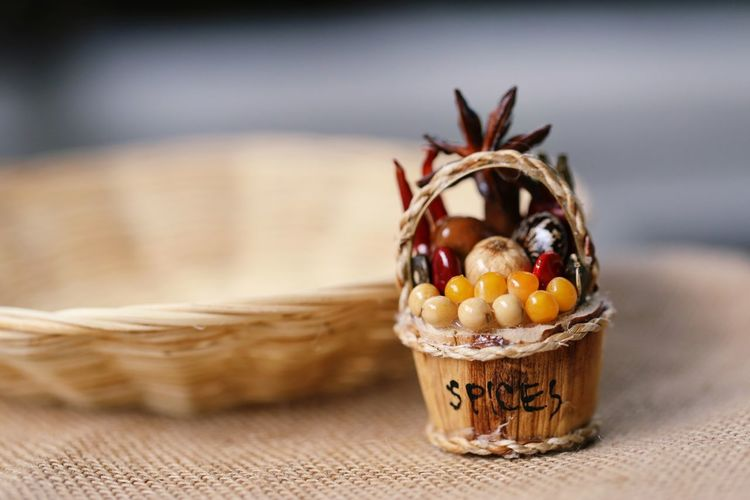 Healthy Ingredient Food Dried Dry Chili  Burlap Vintage Food And Drink Eating Eat Coffee Star Copy Space Close-up Table Selective Focus Herb Pepper Red Chili Pepper Backgrounds Basket Healthy Eating Sweet Food