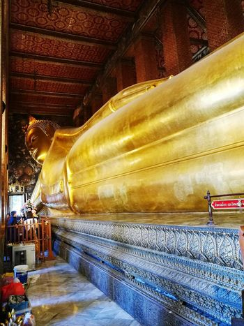 Travel Cultures Temple In Thailand Templephotography Bhudha Gold Gold Colored