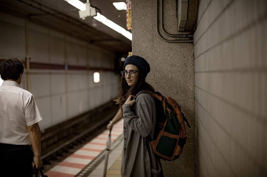 Subway sessions in Tokyo with Tara Japan Travel Style Moody Nowork Lifestyle Art Photography Canon 6D Slowlyimproving Exploring Urban Adventure