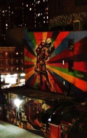 New York City Staple City Urban Geometry Heartbeat Moments