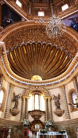 Ornate Indoors  Architecture Travel Destinations History Religion Built Structure No People Place Of Worship Day Close-up