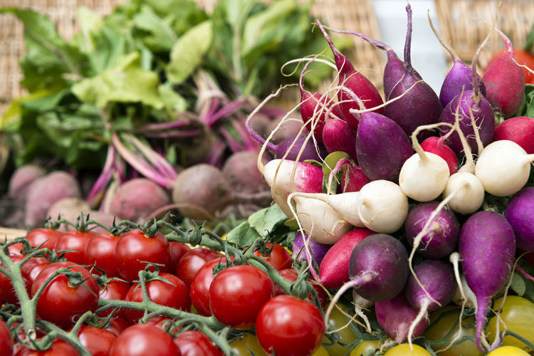 Selection of Fresh Vegetables Freshness Healthy Eating Food Vegetable Wellbeing Radish Tomato Organic Beetroot Beetroots Salad Ingredients Cooking Culinary Gastronomy Healthy Diet Low Calories Tomatoes Delicious Fresh Natural Nutrition Market Root Vegetable