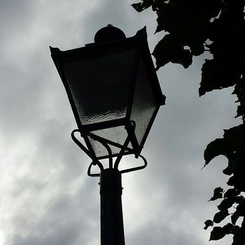 Lantern Streetlight Citylights Streetphotography Silhoutte Nofilter Cloudy Day Cloudyskies Old Oldstyle