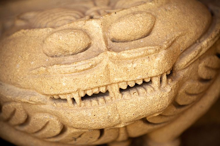 Smile! Good Morning Smile :) Live Long And Prosper Carving Sandstone Incredible India Rajasthan