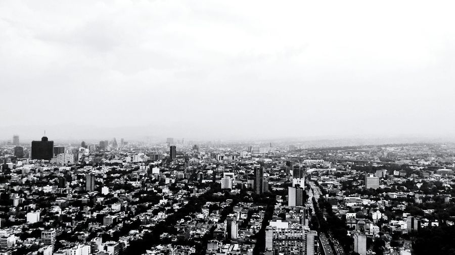 Chapultepec CDMX Cityscape City Life Blackandwhite Photography City Cityscape Urban Skyline Modern Skyscraper High Angle View Aerial View Sky Architecture Building Exterior Tower Wide Shot Tall