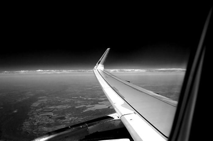 Airplane Avião Pb Blackandwhite Instaair Voar Aviation Pretoebranco Brazil Nikon