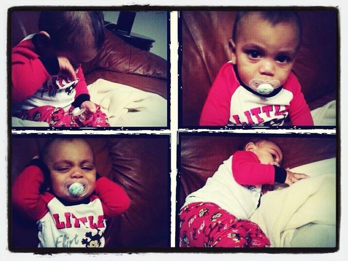 My baby boy ' is sick