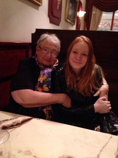 had dinner with Grandma today, love her so so so much! Love Pizza Hungry