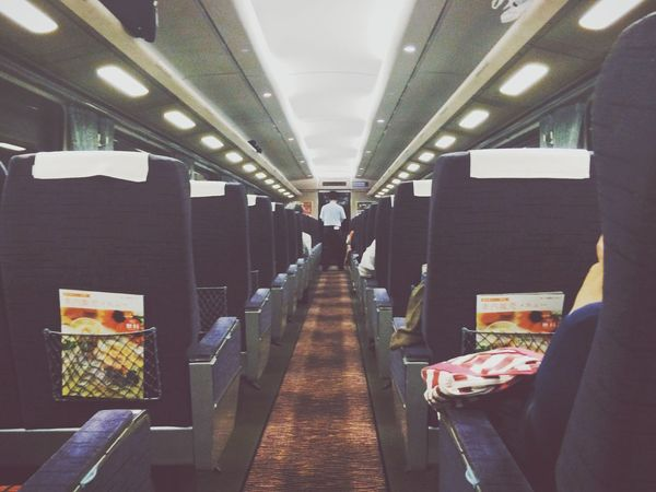 The Explorer - 2014 EyeEm Awards In The Train Vanishing Point