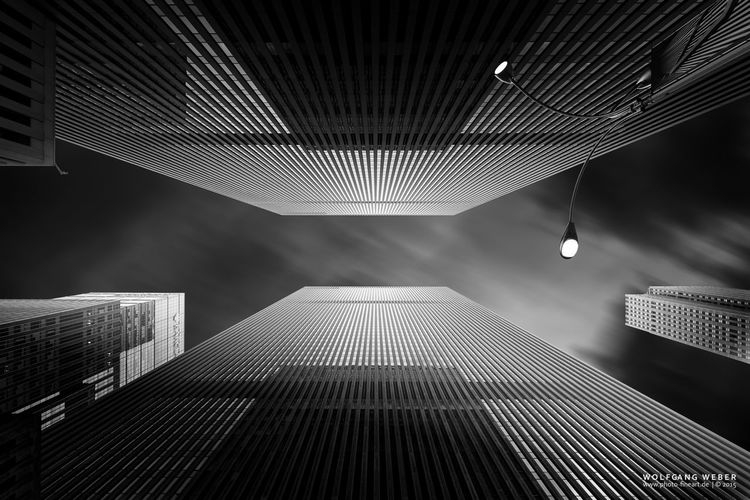 119 W 49th St, NYC Architecture Blackandwhite Building New York City USA