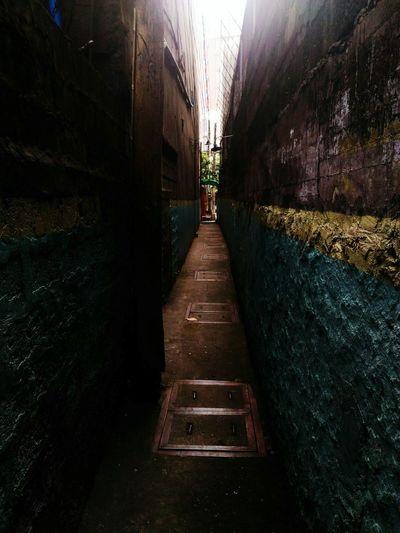 Alleyway Oneway Stairway To Heaven Fine Art Photography